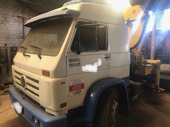 Caminhão Volks Vw 18310 Com Munck Muque 2013 R$ 110.000.