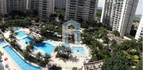 Apartamento, 4 Quartos 2 Suítes, Varanda, 2 Vagas, Piscina, Cidade Jardim, Barra Da Tijuca - Abap40003