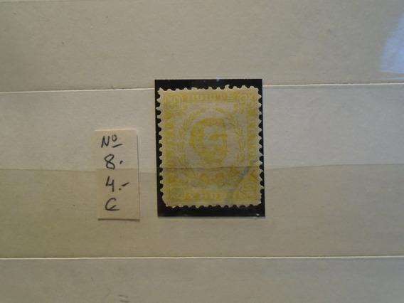 Estampillas Montenegro.sello De 1889. 4 Eu.impecable.