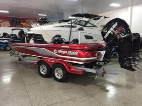 Lancha Mega Bass Boat Verado 300 Hp Mercury Ñ Quest Usada