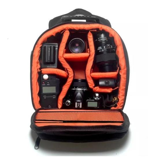 Mochila Para Fotografia Câmeras Lentes E Acessórios Vmb
