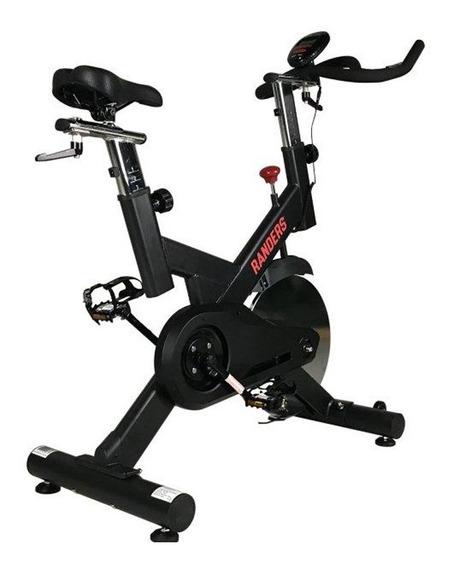 Bicicleta Fija Spinning Randers Arg-953 Con Monitor H/120kg
