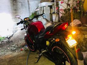 Motocicleta Yamaha Fz16 2014 Factura Original Impecable