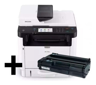 Impresora Multifuncion Fotocopiadora Ricoh Sp 3710sf + Toner