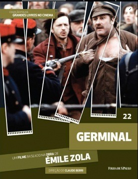 Dvd + Livro Germinal - Émile Zola -claude Berri Folha Vol 22