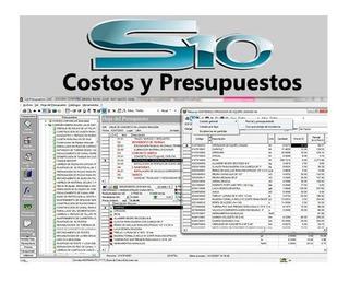 S10 Programa Costos Y Presupuestos Original + Manual