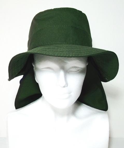 Sombrero Protector Solar Con Cubre Cuello