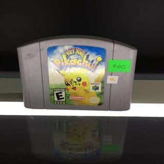 Hey You Pikachu- Videojuego Nintendo 64