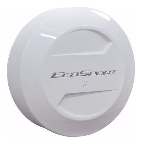 Cubre Rueda Bepo Para Ford Ecosport Kinetic Blanco Oxford