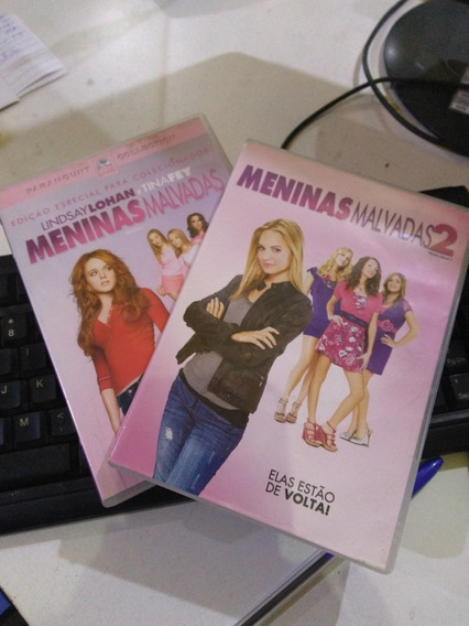 Meninas Malvadas 1e 2 Dvd Original Usado