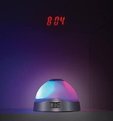 Reloj Despertador Con Proyector De Números
