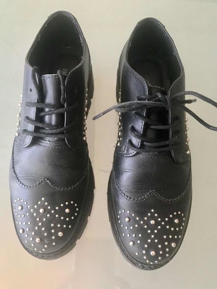 Zapatos Hush Puppies Negros N* 35