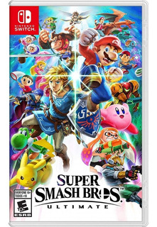 ¡¡ Super Smash Bros Ultimate Para Switch En Wholegames !!