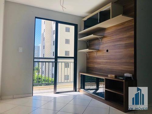 Apartamento Com 2 Dormitórios À Venda, 48 M² Por R$ 239.000 - Vila Rio De Janeiro - Guarulhos/sp - Ap0060