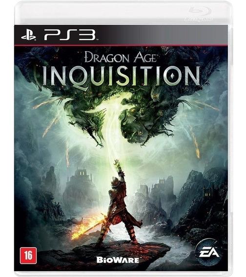 Jogo Dragon Age: Inquisition Ps3 Mídia Física Lacrado