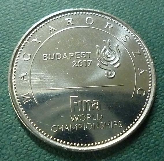 Hungria Moneda 50 Forint Unc 2017 Campeonato Mundial Fina