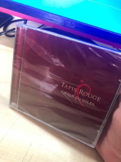 Cd Cirque Du Soleil - Tapis Rouge - Lacrado