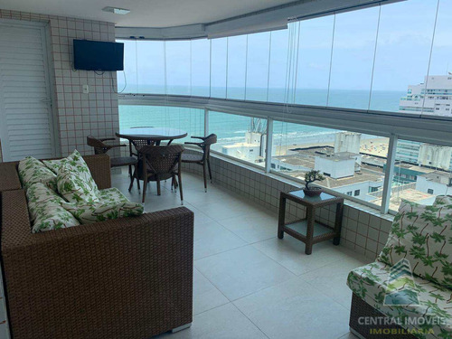 Cobertura Com 3 Dorms, Canto Do Forte, Praia Grande - R$ 1.89 Mi, Cod: 9117 - V9117