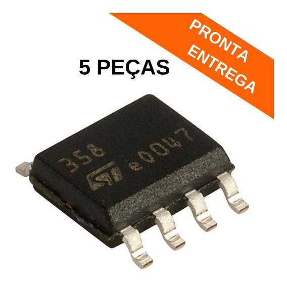 Lm358 Circuito Integrado Smd Soic-8 Lm358dt (5 Peças)