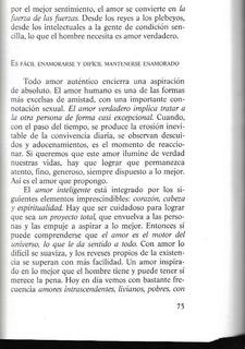 Libro / El Amor Inteligente / Enrique Rojas / Z22