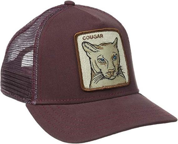 Gorra Goorin Bros Cougar Guinda Nueva Y Original