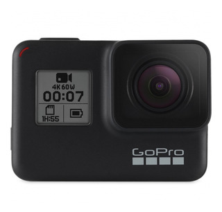 Gopro Hero 7 Black 4k Ultra Hd 60 Fps 12mp Chdhx-701-rw