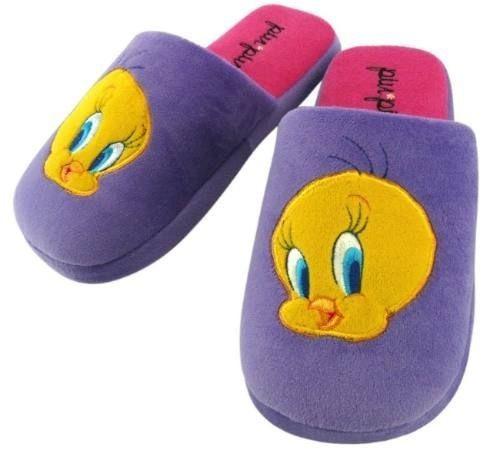 a67e07ed9 Pantufa Looney Tunes Original - Pantufas Violeta com o Melhores ...