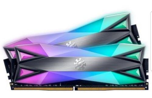 Imagem 1 de 5 de Memórias Ram Spectrix D60g Xpg 3200mhz 2x8gb Rgb Ddr4