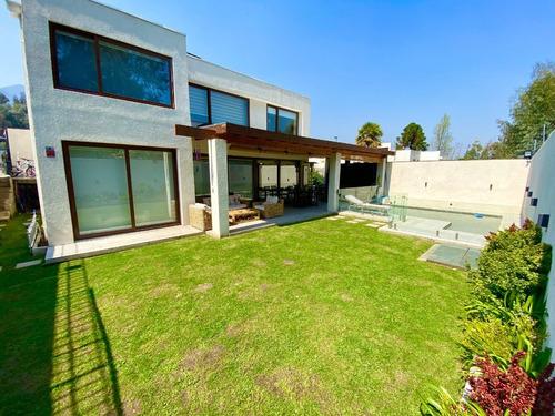 Imagen 1 de 30 de Espectacular Casa En Condominio La Reina Alta