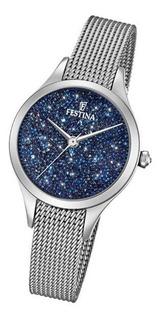 Reloj Festina Dama Con Swarovski F20336 + Envio Gratis