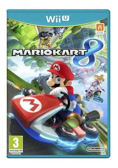 Jogo Novo Lacrado Mario Kart 8 Para Nintendo Wii U