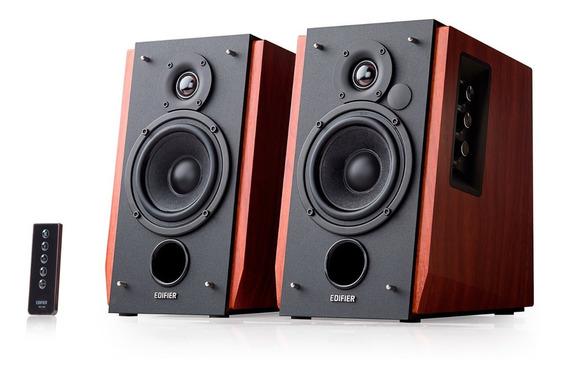 Caixa De Som Profissional Edifier Madeira R1700bt Bluetooth