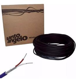 Cabo Microfone Santo Angelo X30 100 Metros Dmx- Kadu Som