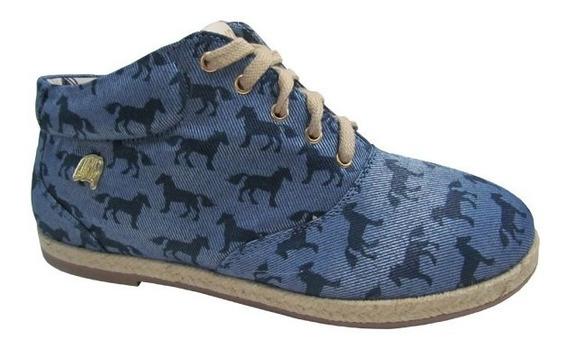Sapato Guria Cavalo/jeans