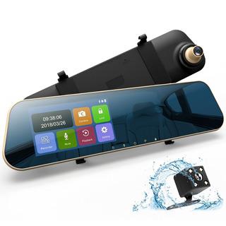 Dudubell Mirror Dash Cam 4 3 Pantalla Táctil Coche Dash Cam