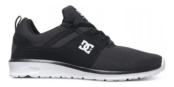 Zapatilla Hombre Urbana Dc Shoes Heathrow (bkw) (no Envios)
