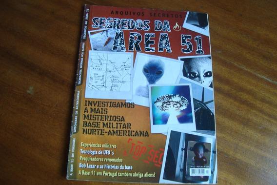 Revista Mythos Arquivos Secretos 13 / Segredos Da Area 51