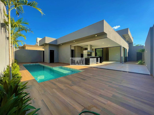 Casa À Venda Condomínio Damha Vi Com 3 Quartos, 4 Vagas E 255m² - V7938