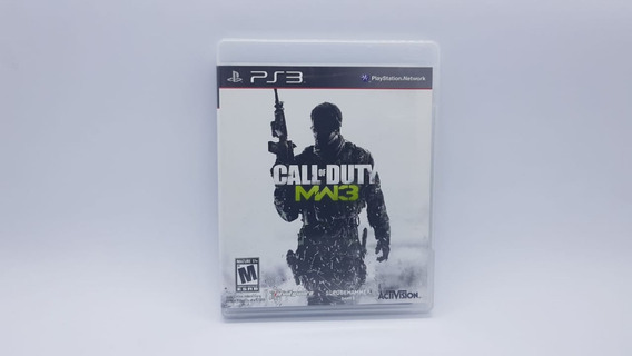 Call Of Duty Mw3 - Midia Fisica Em Cd - Ps3