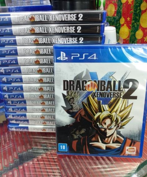 Dragon Ball Xenoverse 2 Ps4 Mídia Física Lacrado Original