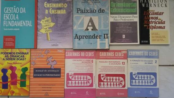 Livros Diversos Sobre Pedagogia Educação 40 Volumes