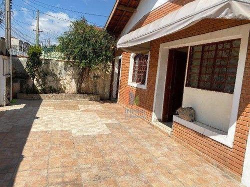 Casa Com 4 Dormitórios À Venda, 200 M² Por R$ 580.000,00 - Vila Costa E Silva - Campinas/sp - Ca0419