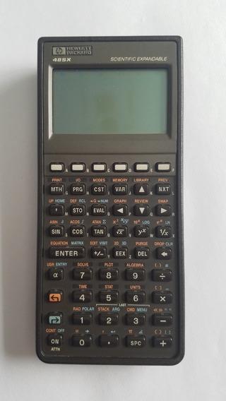 Calculadora Hp 48sx + Placa Hp Solve + Estuche + Manual