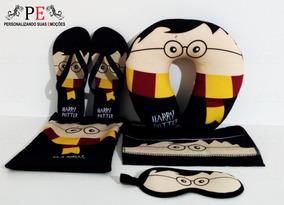 Kit Viagem Harry Potter 3 Com Caneca