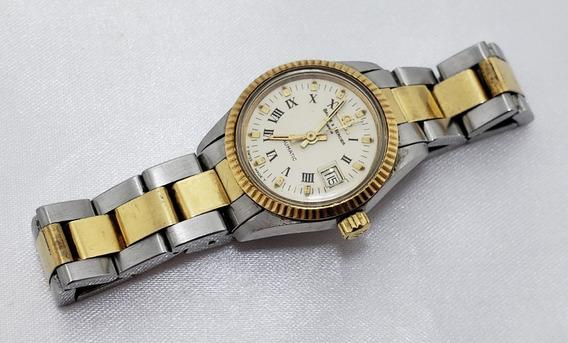 Relógio Feminino Baume & Mercier Automático Plaque De Ouro