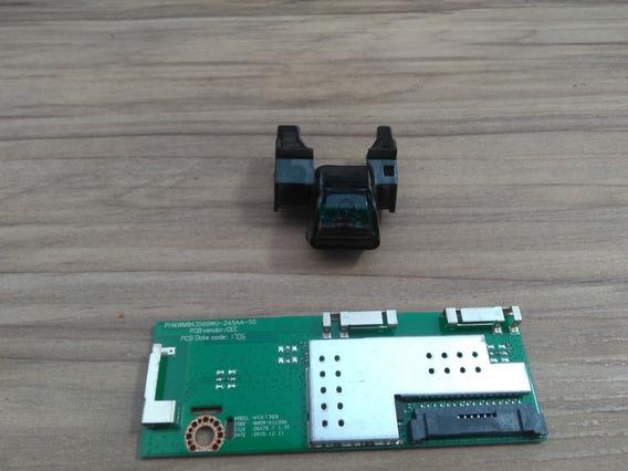 Botão Power E Modulo Wifi Tv Samsung Un49ku6450g