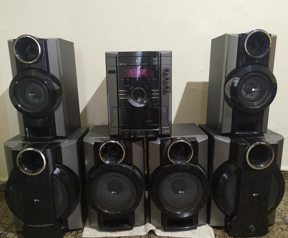 Mini System Lg Mcv903 - Aparelho De Som Completo