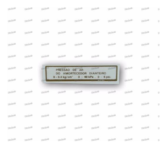 Etiqueta Dourada Do Tanque Cbx750f 86 E De 88 A 94(indy`s)