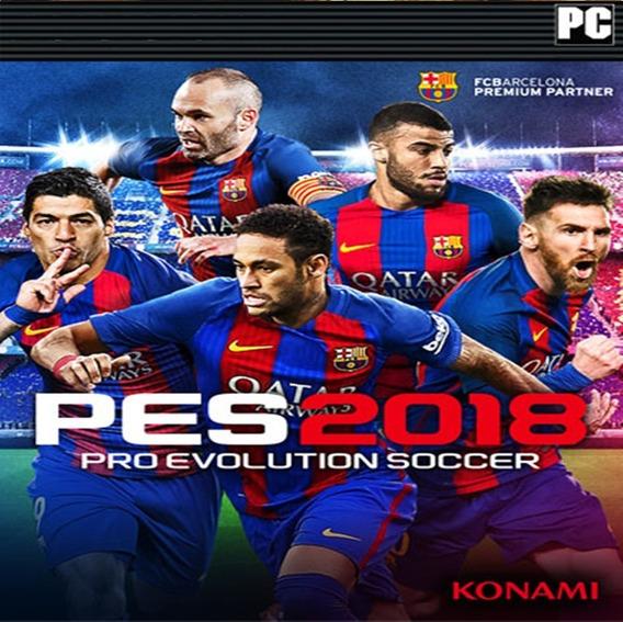 Pro Evolution Soccer 2018 Pc Mídia Digital Offline!