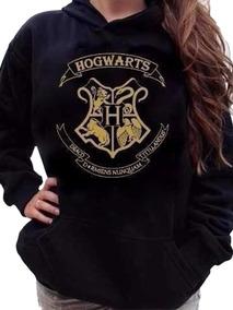 Blusa Hogwarts Harry Potter Blusa Moletom Canguru Com Capuz